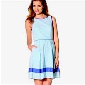 EUC Jessica Simpson Seer Sucker Summer Dress